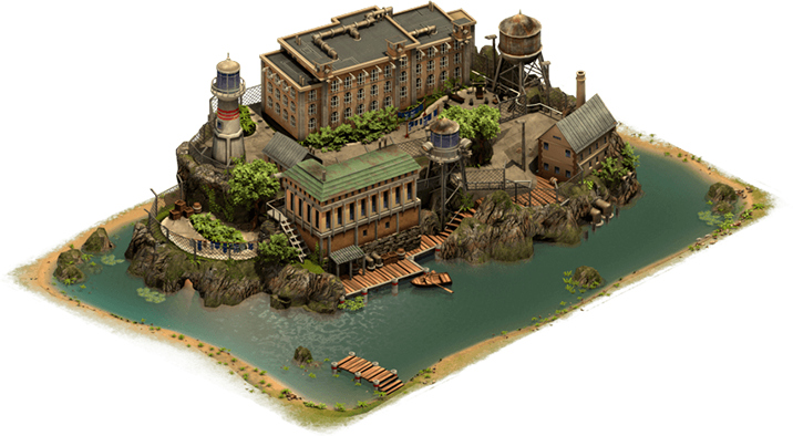 Forge of Empires Alcatraz Great Building