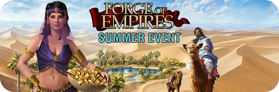 Forge of Empires 2015 Summer Casino Event